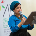 Tasneem Chopra speaks at Iftar dinner