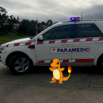 charmander with ambulance