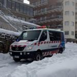Ambulance in Mt Bulla