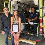 reunion with paramedics