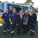 Gisborne reunion with paramedics