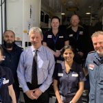Stroke ambulance continues to save lives